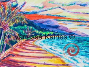 cairns beach 2 - not for sale - artists own