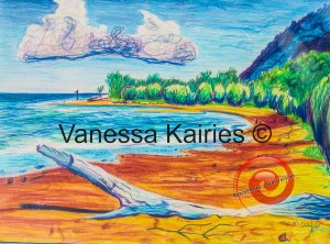 cairns beach - not for sale - artists own